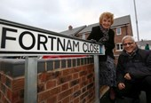 Family remember WWI hero after street named in his honour