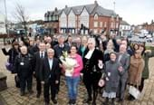 High Sheriff opens new homes in Coalville