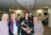 Extra care residents enjoy Brass Band Carol Concert