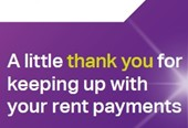 Win a fantastic prize for keeping your rent account up to date!