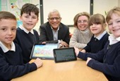 emh group donates IT equipment to local school