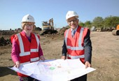 Demolished factory to be replaced by 85 new affordable homes