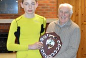 Chair presents trophies at Coalville Schools Rugby Cup