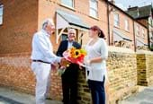 Council Leader opens new affordable homes in Kettering