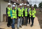 Local Councillors tour new scheme