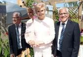 Angela Rippon opens extra care scheme