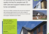 New extra care apartments now available in Blaby