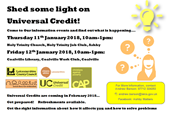 Universal Credit is being introduced in NW Leicestershire