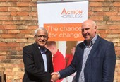 Action Homeless and emh group celebrate 30-year partnership with hostel handover